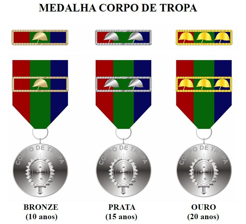 Medalha Corpo de Tropa