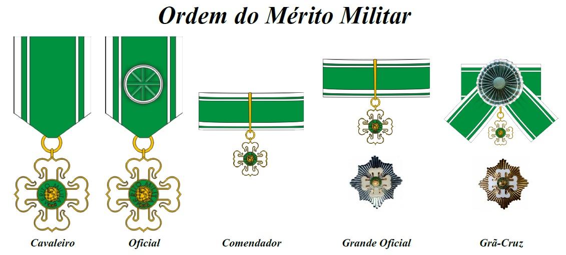 Resultado de imagem para ordem do mérito militar