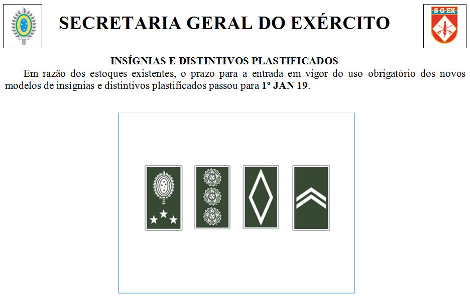 INSÍGNIAS E DISTINTIVOS PLASTIFICADOS 8107ec9ae60